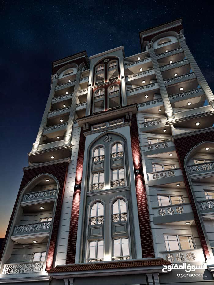 شقة 160م بقلب سموحة شارع فوزي معاذ الرئيسي
