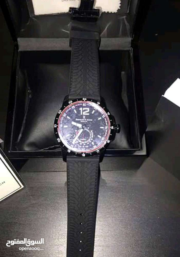 ساعة رجالية ونسائية برنارد اتش ماير اصلية سويسرية جايتني من بره