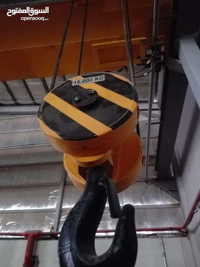 روافع كهربائية (كرينات) مستعملة