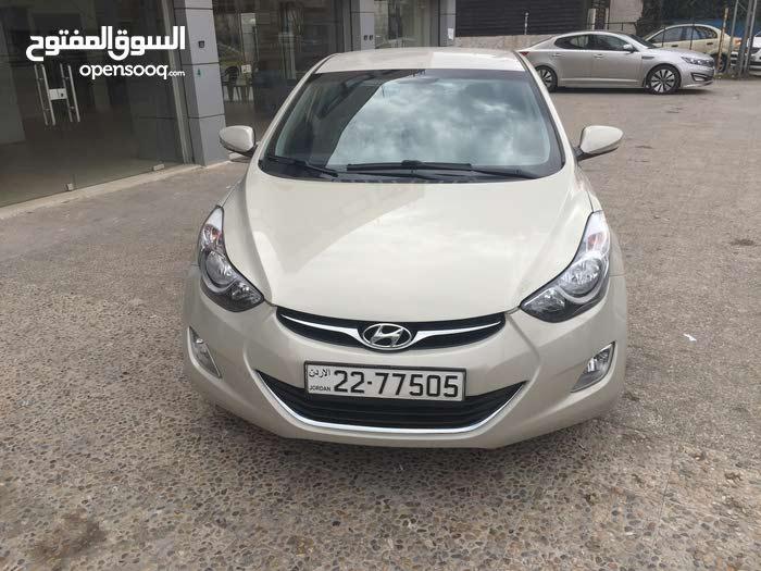Hyundai Elantra 2014 For sale - Beige color
