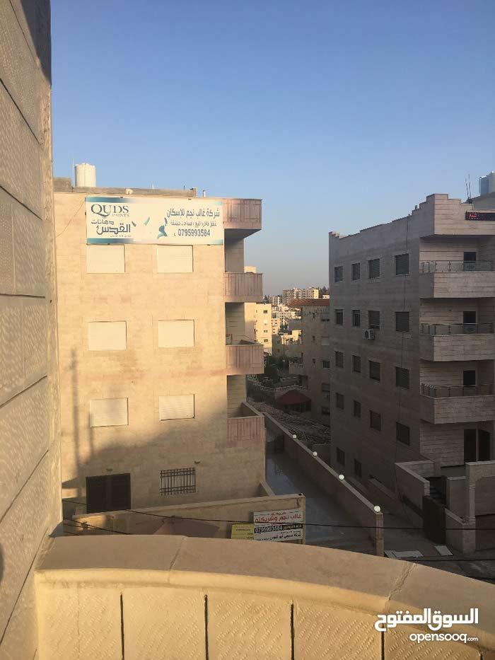 شقة طابق ثالث مميزة مساحة 150م في طبربور قرب جامعة العلوم الاسلامية