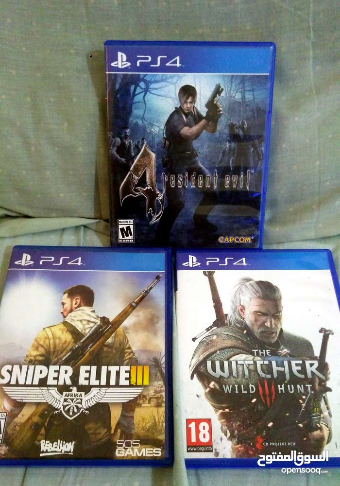 ps4 games avalible in new condition