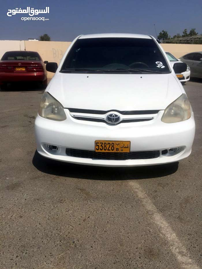 White Toyota Echo 2003 for sale