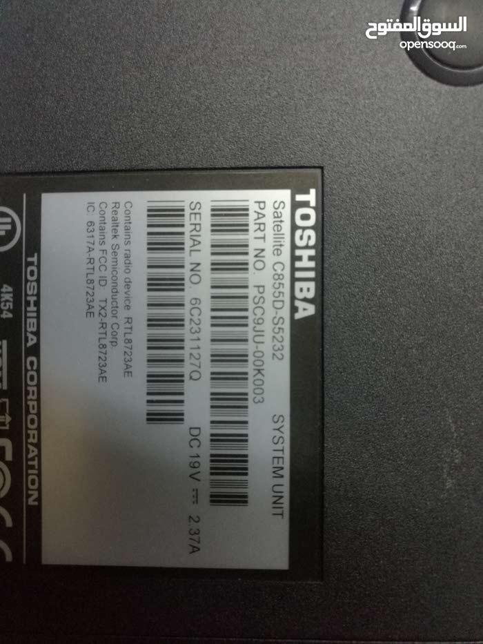 لاب توب ماركة توشيبا Toshiba laptop