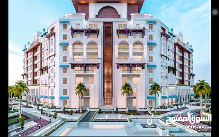شقة غرفتين 119 متر في العاصمة الإدارية الجديدة