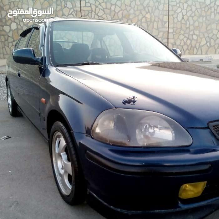 Blue Honda Civic 1996 for sale