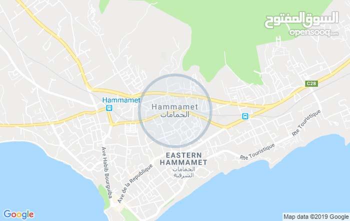 أرض للبيع 693 متر على الطريق الوطنية 1 ما بين بوفيشة ياسمين الحامامات