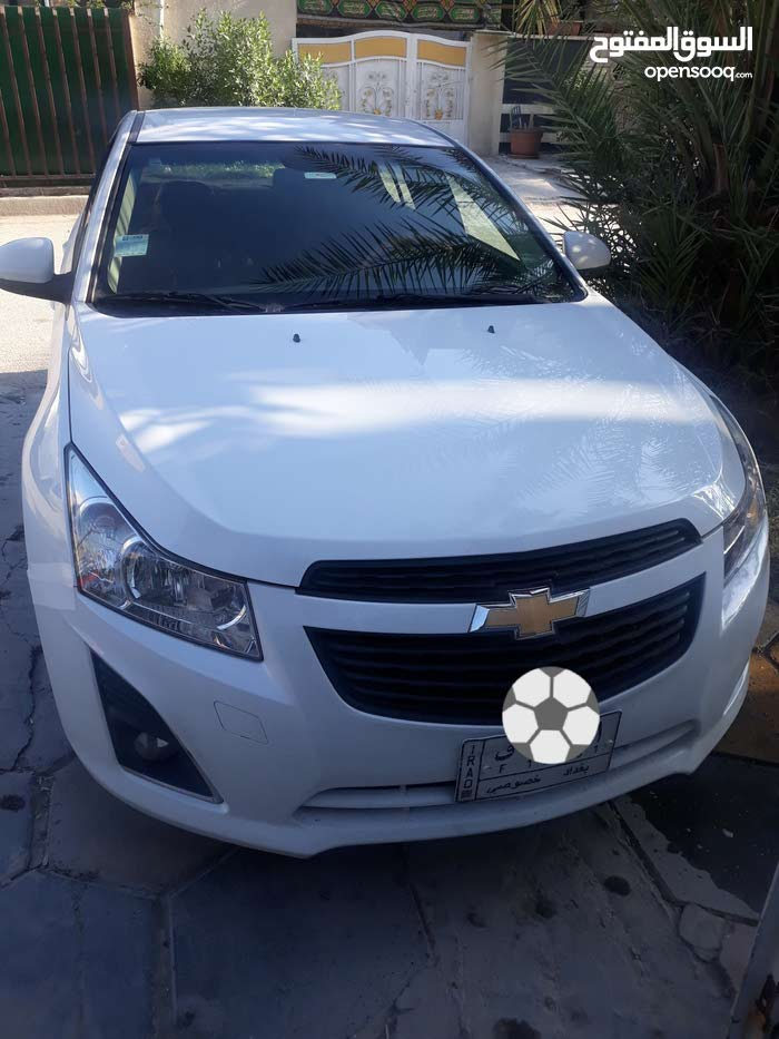 Chevrolet Cruze 2013 For sale - White color