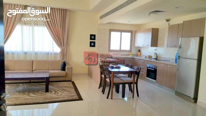 Fully Furnished Brand new 2 Bedroom flat for Rent in Janabiya BD 350 /- Inclusive :  66388416