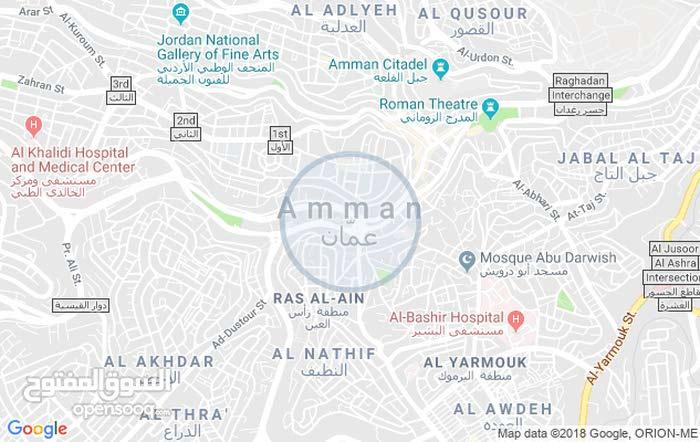 ارض للبيع خلف قصر المناصير