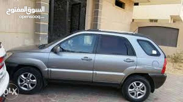 Automatic Silver Kia 2008 for sale
