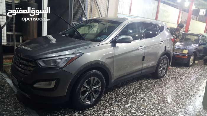 Grey Hyundai Santa Fe 2015 for sale