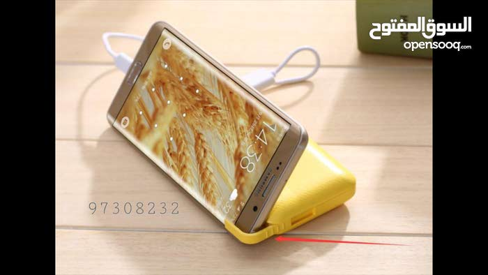 Phone stand with power bank