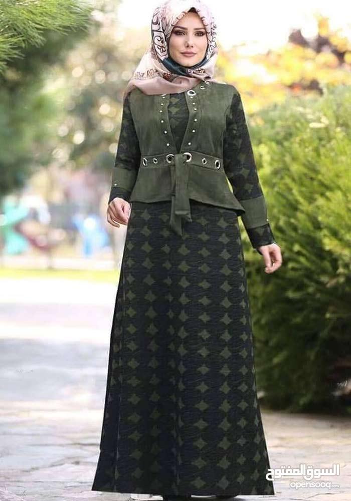 فستان شتوي تركي