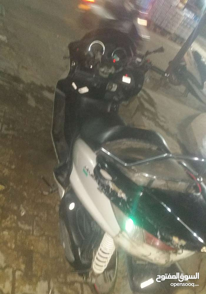 Used BMW motorbike up for sale in Baghdad