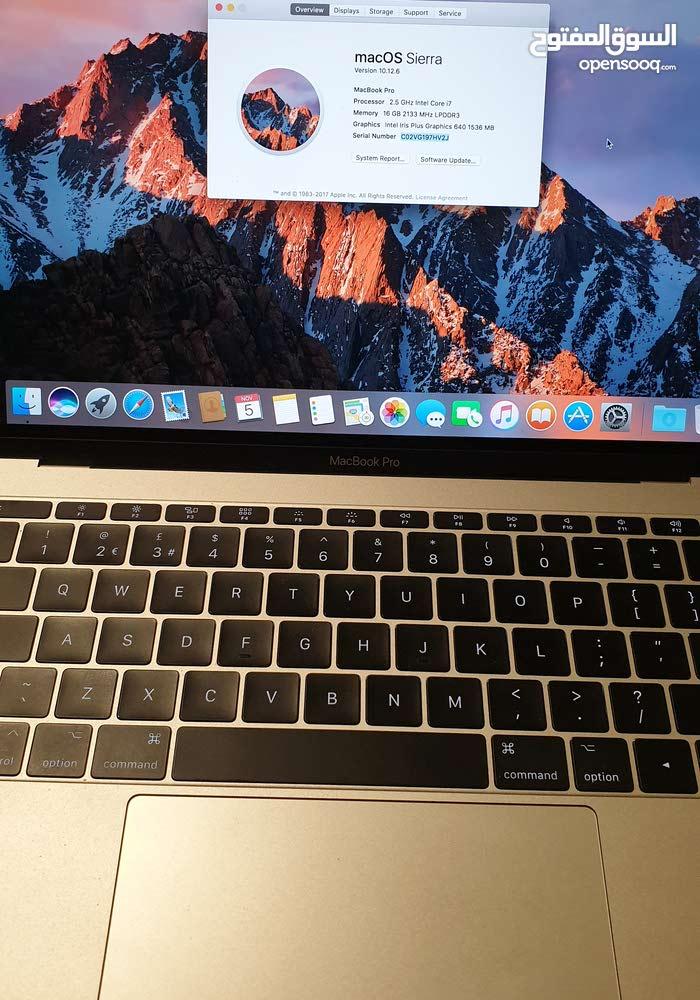MacBook Pro 13-inch, 2017 i7 وكالة