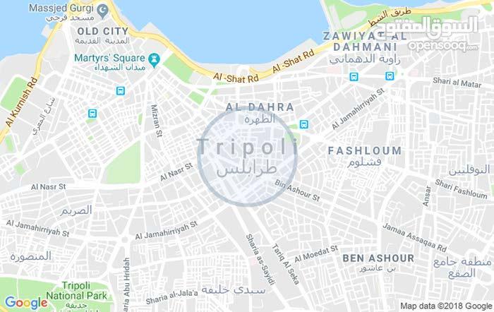 ارض 2600م للبيع طرابلس