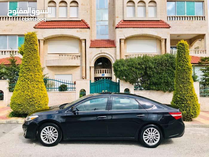 تويوتا أفالون XLEفحص كامل 7 جيد ماتور 2500 سي لون اسود ملوكي موديل 2015 فل الفل
