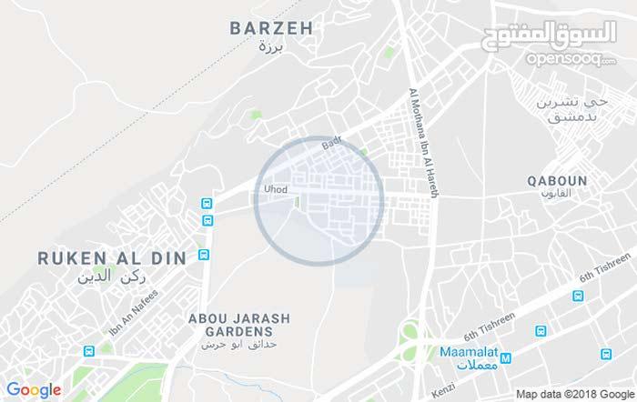 دمشق مساكن برزة خلف السكن الجامعي