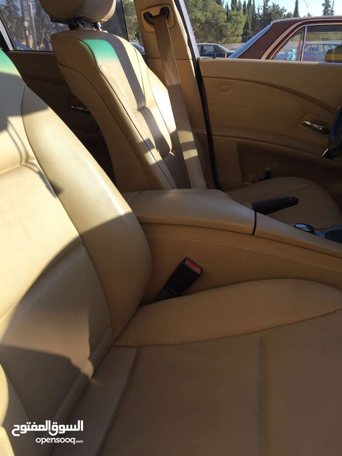 Beige BMW 523 2005 for sale