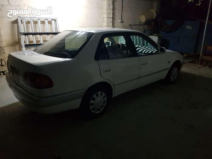 For sale 1998 White Corolla