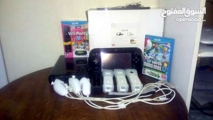 A Nintendo Wii U device up for sale for video game lovers