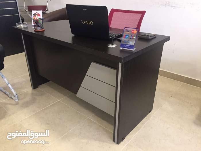 مكتب 120 سم مع كرسي