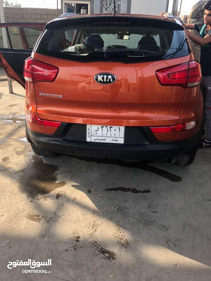 Automatic Orange Kia 2015 for sale