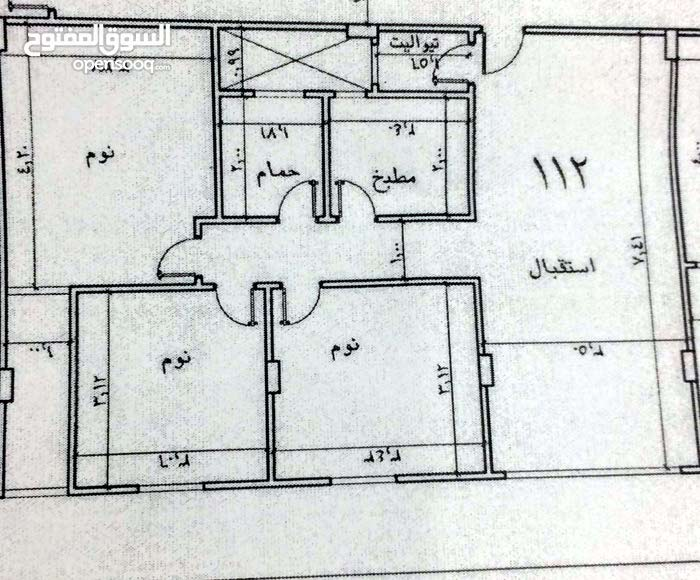 apartment area 112 sqm for sale