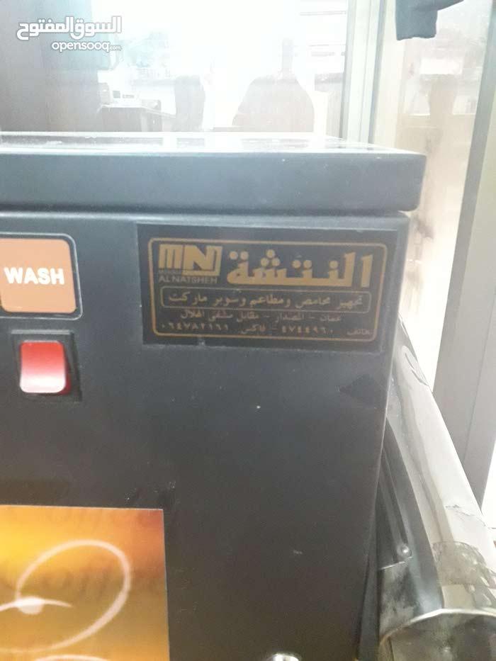 ماكينة قهوة غلي النتشة مستعمله للبيع نظيفة وشغالة 100%