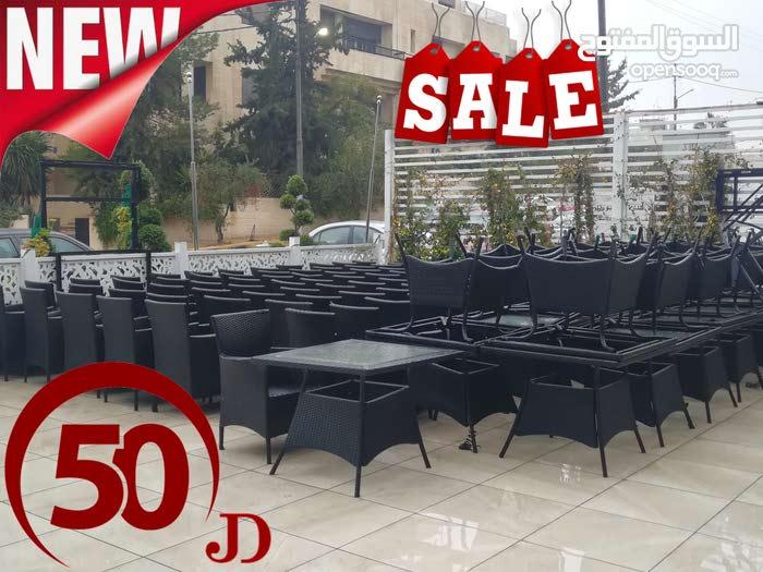 طاولات وكراسي ( راتان )