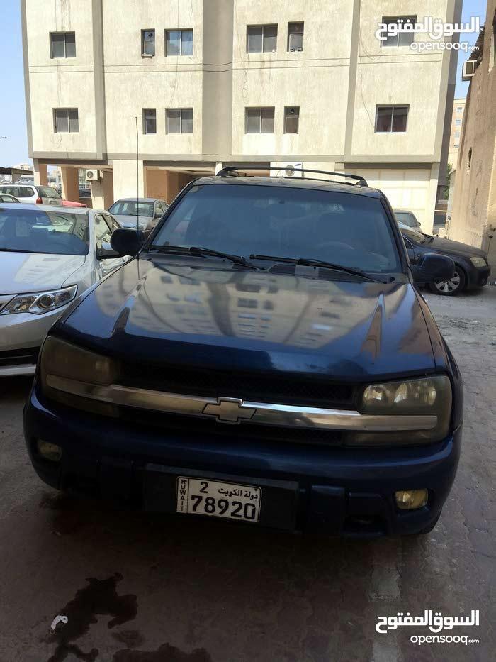 Blue Chevrolet TrailBlazer 2005 for sale