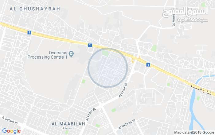 مطلوب سكني تجاري بجنب مسجد في المعبيله أو العامرات