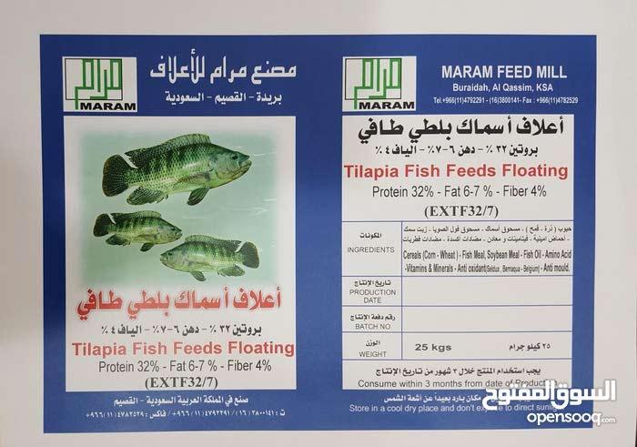 علف سمك سعودي