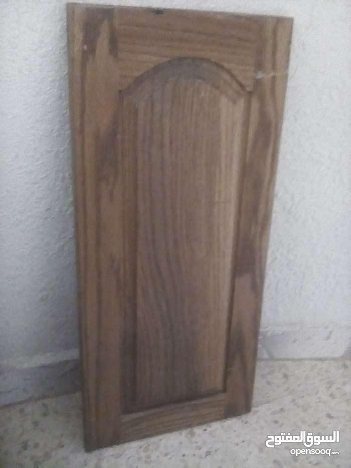 درف (أبواب) مطبخ خشب بلوط قياس 75 × 35 وقياس 60 × 35 وقياسات اخرى