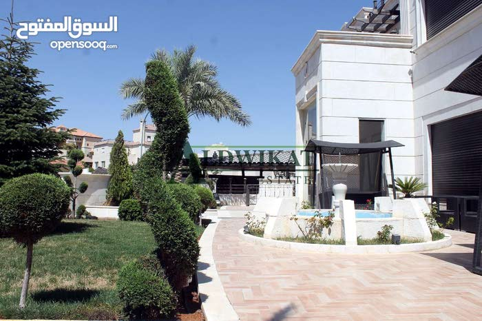 More rooms More than 4 bathrooms Villa for sale in AmmanDabouq