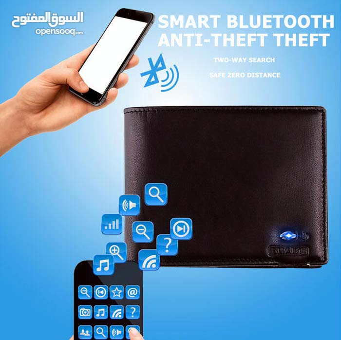 RETRO SOFT LEATHER CHARGE SMART WALLET