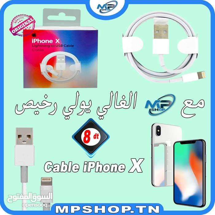 Câble chargeur iPhone X