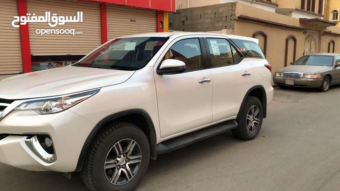For sale 2018 White Fortuner