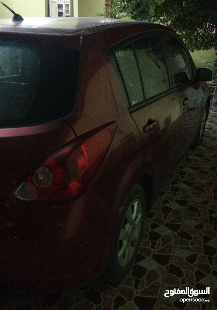 Red Nissan Tiida 2007 for sale