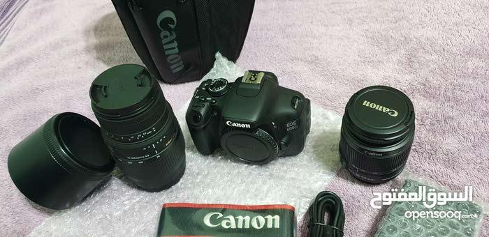 canon 600d 2 lenses