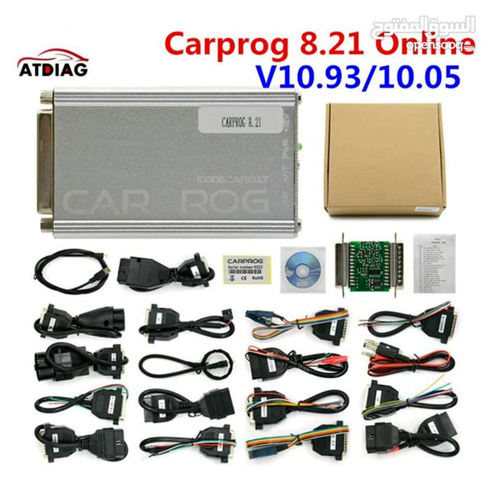 جهاز البرمجة CARPROG FULL 8.21 Online Version