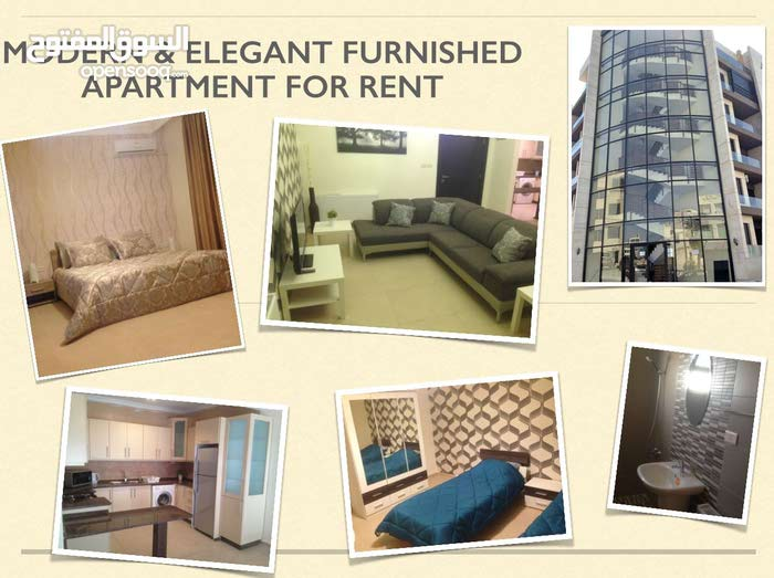 Modern & Elegant Furnished 2 Bedroom Apartment is now available for rent