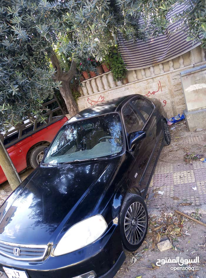 Black Honda Civic 2000 for sale