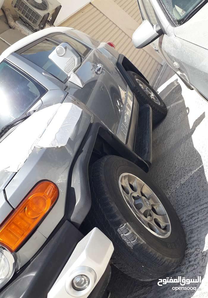 Toyota FJ Cruiser 2012 For sale - Grey color