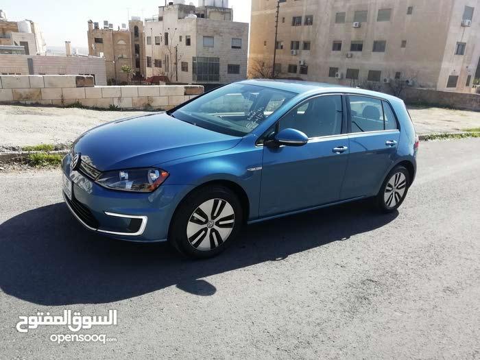 جولف كهرباء Volkswagen موديل 2016SE لون مميز  فحص كامل كلين كار فاكس سعر مغري