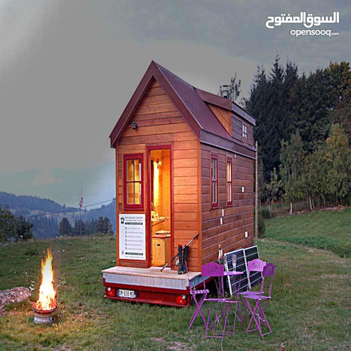 تصنيع وتركيب جميع بيوت الخشبية حسب المساحه والطلاب