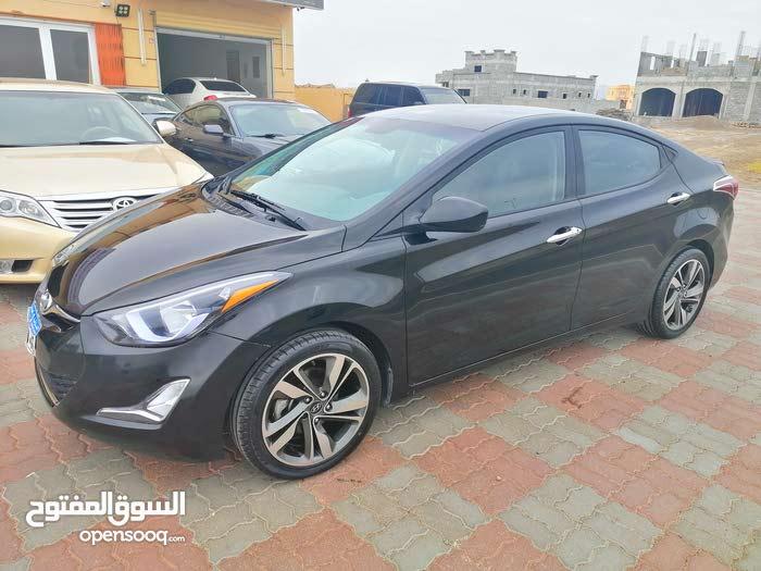 Hyundai Elantra 2016 For sale - Black color