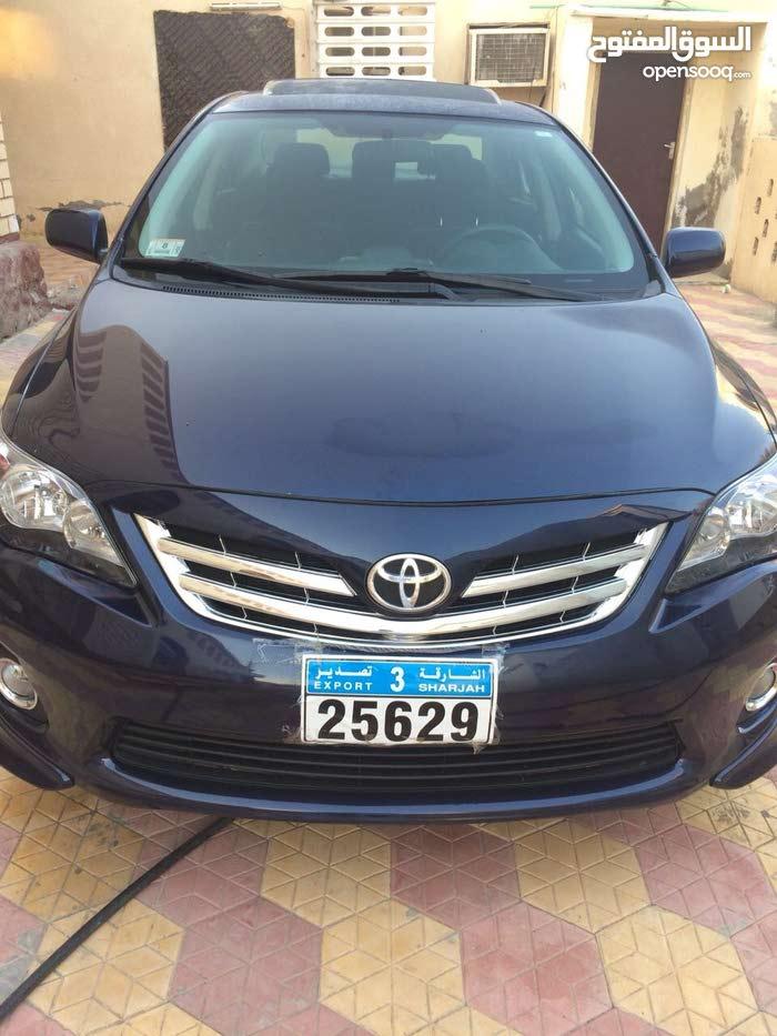 Toyota Corolla 2012 For sale - Blue color