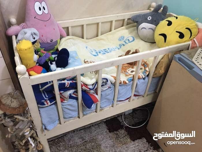 سرير طفل+دوشك